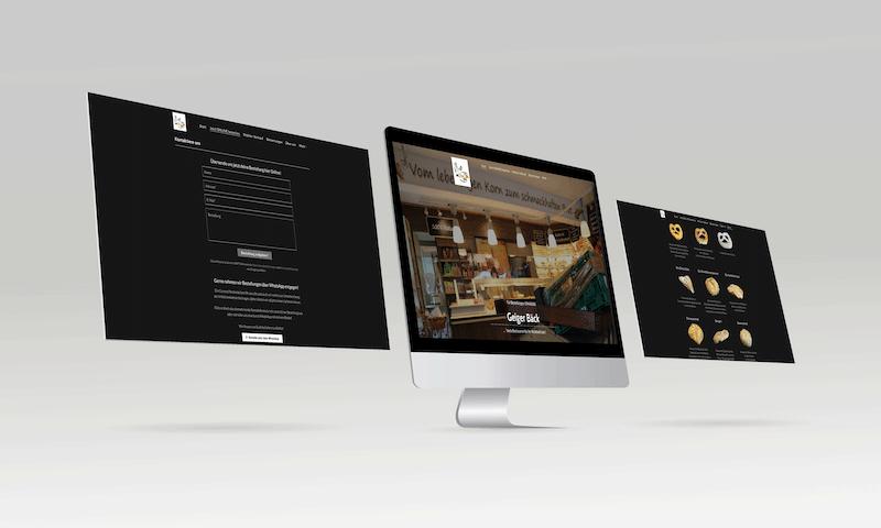 Geiger Bäckerei Webdesign Herrnwahlthann - mediarenner