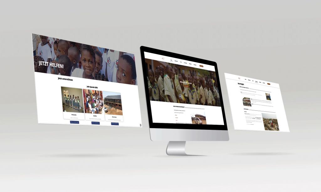 Miracle's Hilfsprojekt [Webdesign]