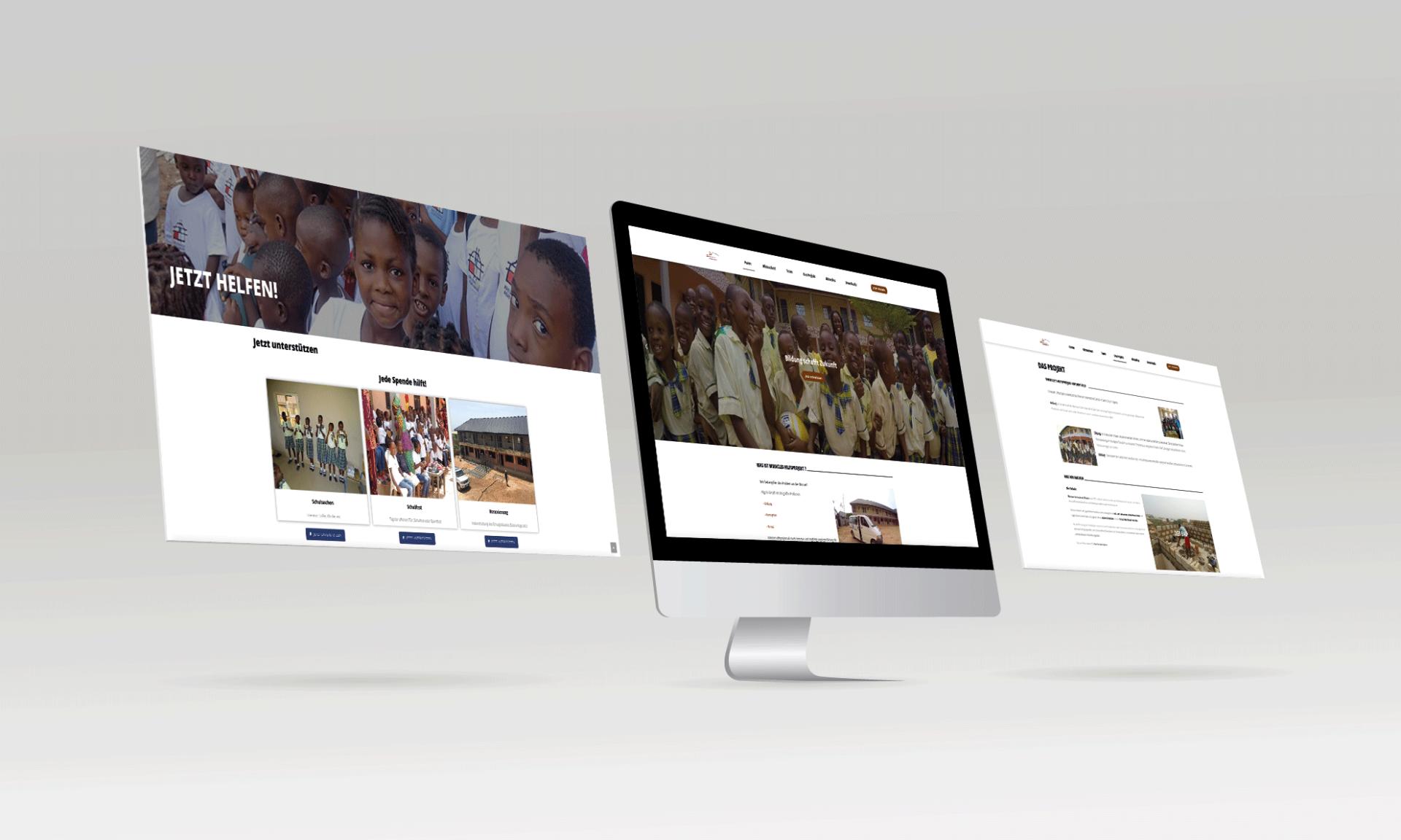 miracle's hilfsprojekt e.V. webseite - mediarenner