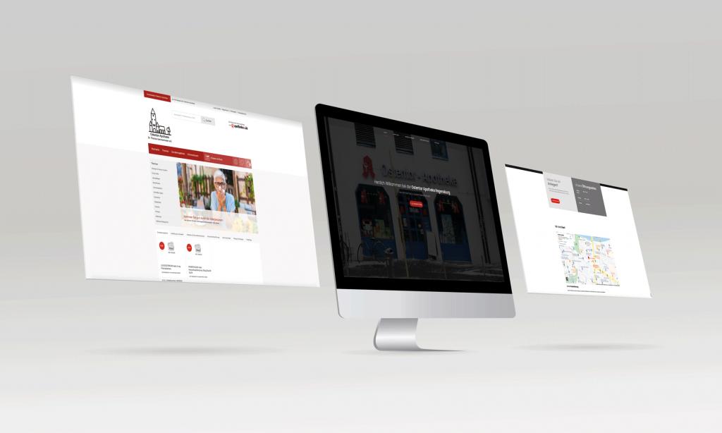 Ostentor Apotheke [Webdesign]